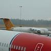 Malmo Aviation Avro RJ SE-DSR at Gothenburg Landvetter Airport.