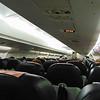 Flying from Dublin to London City on CityJet Avro RJ85 EI-RJX.