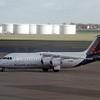 Brussels Airlines Avro RJ100 (BAE 146) OO-DWF at Brussels International Airport, Belgium.