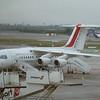 A CityJet Avro RJ85 at Dublin Airport.