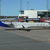 SAS Scandinavian Airlines Bombardier CRJ-900 ES-ACG at Stockholm Arlanda on an Ronneby flight, 21.09.2020.