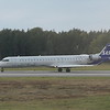 SAS Scandinavian Airlines Bombardier CRJ-900 ES-ACG departing Stockholm Arlanda on an Ronneby flight, 21.09.2020.