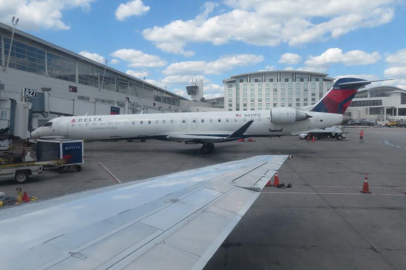 Delta Connection (Endeavor Air) Bombardier CRJ-900 N331PQ at Detroit Metropolitan Airport, 21.06.2019.