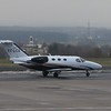 Sur Aviation Cessna Citation EC-LCX at Dortmund Airport, 12.12.2017.