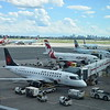 Sky Regional Air Canada Express Embraer E175 C-FRQM at Toronto Pearson Airport.