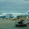 Flybe Embraer E175 G-EBJC at Birmingham Airport.