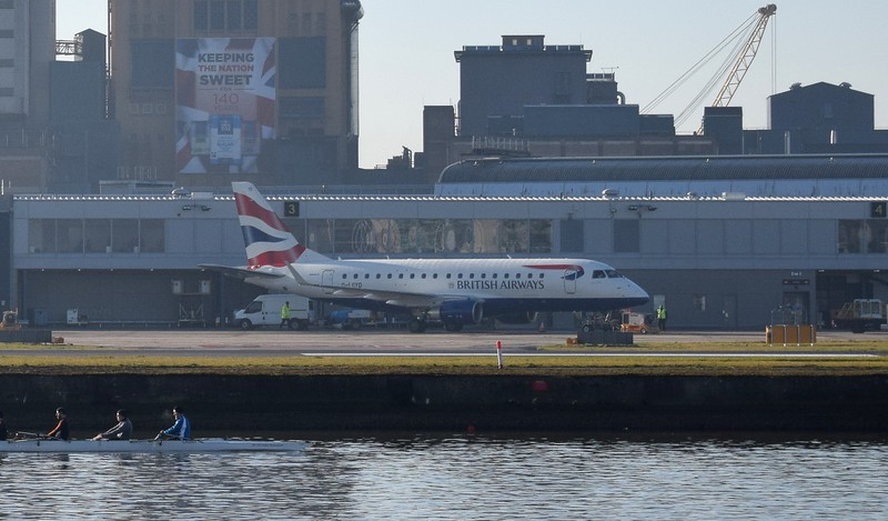 British Airways Cityflyer Embraer E170 G-LCYD at London City Airport, 17.02.2018.