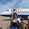 Boarding British Airways Cityflyer Embrear E170 G-LCYD at Rotterdam The Hague Airport on the 16:05 to London City.