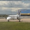 Swiftair Embraer EMB-120 Brasilia EC-IMX at Belfast International airport.