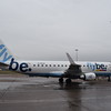 Flybe Embraer ERJ-175 G-FBJH at Birmingham Airport.