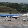 BMI Embraer ERJ-145 G-RJXG at Birmingham Airport.