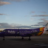 Loganiar (Flybe) Saab 340B G-LGNJ at Inverness Airport arriving from Sumburgh.