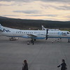 Loganiar (Flybe) Saab 2000 G-LGNO at Inverness Airport.
