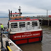 """The Fleetwood to Knott End Ferry """"Wyre Rose"""" at Fleetwood Ferry Terminal."""