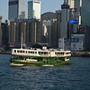 The Star Ferries Hong Kong Island to Kowloon ferry service.