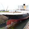 The SS Nomadic, the sole surviving White Star Line ocean liner.