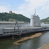 The USS Requin submarine at the Pittsburgh Science Centre.