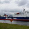 "Stena Line ferry ""Stena Hibernia"" at Belfast Docks."