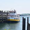 "The Maine to Novia Scotia ferry ""Aucocisco III""."