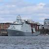 Danish Navy Iver Huitfeldt-class frigate F361 in Copenhagen.