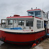 """The Fleetwood to Knott End Ferry """"Wyre Rose"""" at Knott End ferry port."""