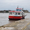 """The Fleetwood to Knott End Ferry """"Wyre Rose"""" at Knott End Ferry Terminal."""