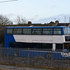 New Horizon Travel Dennis Trident Plaxton President T97KLD (ex Metroline TP30) at Clacton-on-Sea station, 03.01.2018.