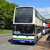 Diamond Coaches Ex Lothian Dennis Trident Plaxton President W564RSG at the Wellingborough running day.