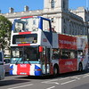 "RATP London ""The Original Tour"" open top DAF Plaxton President LJ51DKV DLP264 at Westminster on City Tour route CT7, 27.09.2018."