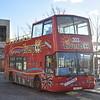 Liverpool City Sights Dennis Trident Plaxton President LK03CGU 303 (ex Metroline TP427), 30.11.17.