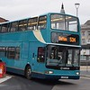 Arriva DAF Plaxton President LJ51DKY 4164 at Bolton Interchange on the 534, 18.11.17.