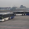 MAN Lion's City articulated bus 185 at Frankfurt Airport.