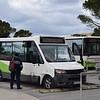 Malta Public Transport Volkswagen Bluebird BUS291 at the Valletta Bus Terminal.