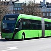 Skanetrafiken Scania Van Hool ExquiCity ERU181 in Malmo on the 5 to Vastra Hamnen.
