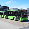 Skanetrafiken articulated Mercedes Citaro YAK216 3445 in Malmo on the 7 to Svagertorp.