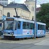 Oslo Duewag SL79 tram no. 109 outside City Hall.