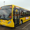 D&G Buses 'Nines' liveried ADL Enviro 200 YX60DXK 119 at Stoke-on-Trent Britannia Stadium on the Potteries Omnibus Preservation Society running day.
