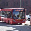 D&G Bus ADL Enviro 200 YX14RZA 107 in Stafford on the 841 from Uttoxeter.