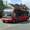 D&G Bus Optare Solo SR YJ11OGZ 116 in Crewe on the 5.