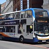 Stagecoach ADL Enviro 400 MMC SN17MKG 10860 in Manchester on the 118.