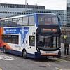 Stagecoach ADL Enviro 400 MMC SN66VXA 10733 at Milton Keynes Central on the MK1 to Silverstone.