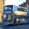 Brand new Stagecoach Gold Enviro 400 MMC SN66VZB 10780 in Oxford on the X30 to Wantage.