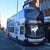 Stagecoach 'Breeze' branded Enviro 400 MMC YN16MVD 15264 in Margate on the 8A to Canterbury.
