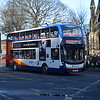 Stagecoach Enviro 400 MMC SN16OZT 10654 in Newcastle on the 11 to West Denton.