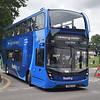 Reading Buses ADL Enviro 400 MMC YN66EZM 701 at the Alton running day.