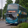 Arriva Volvo Wright Eclipse Gemini LJ04LGV 6047 in Aylesbury on the 500 from Watford.