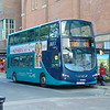 Arriva Max Volvo Wright Eclipse Gemini AY07MAX 1507 in York on the 415 to Selby.