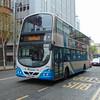 Ulsterbus Volvo Wright Eclipse Gemini DEZ7252 2252 in Belfast.
