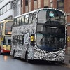 "Brighton & Hove Volvo Wright Eclipse Gemini BJ11XHX 421 ""Aubrey Beardsley"" at Brighton station."
