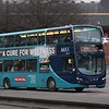 Arriva Max Volvo Wright Eclipse Gemini NK59DMU 7610 in Gateshead on the X12 to Durham.